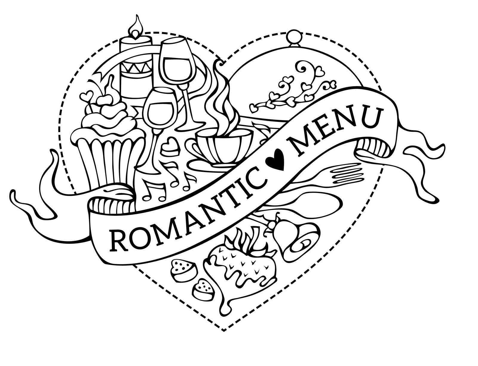 Romantic Menu